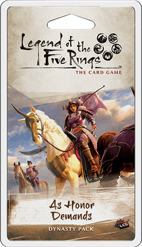 Legend of the Five Rings LCG As Honor Demands