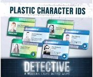 Board Game Accessory: Detective: Plastic Character IDs