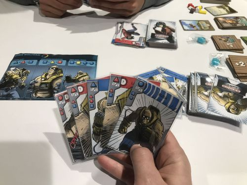 Board Game: Combo Fighter