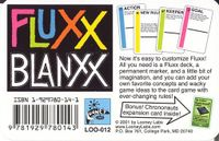 Board Game: Fluxx Blanxx