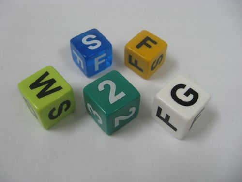 Board Game: Clubhouse Golf Dice Game