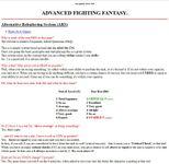 RPG Item: ARS: Alternative Roleplaying System