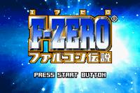 Video Game: F-Zero: GP Legend