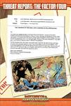RPG Item: Threat Report #27: The Factor Four