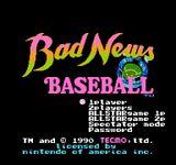 Video Game: Bad News Baseball