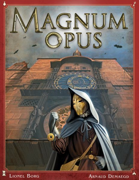 Magnum Opus, Bragelonne Games, 2020 — front cover (image provided by the publisher)