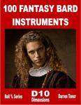 RPG Item: 100 Fantasy Bard Instruments