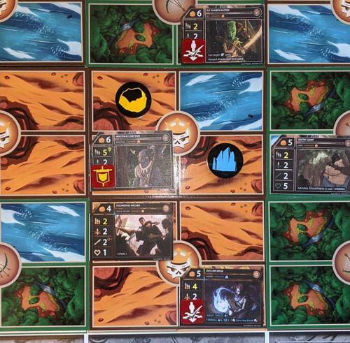 Board Game: Factions: Battlegrounds