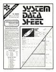 RPG Item: System Data Sheet