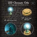 RPG Item: LED Chromatic Orbs Pack
