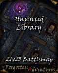 RPG Item: Haunted Library 21x23 Battlemap