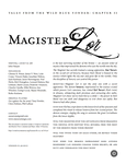 RPG Item: Magister Lor