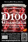 RPG Item: D100 Glosslalia Gibberish Generator for all RPGs