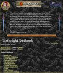 RPG Item: Birthright Netbook