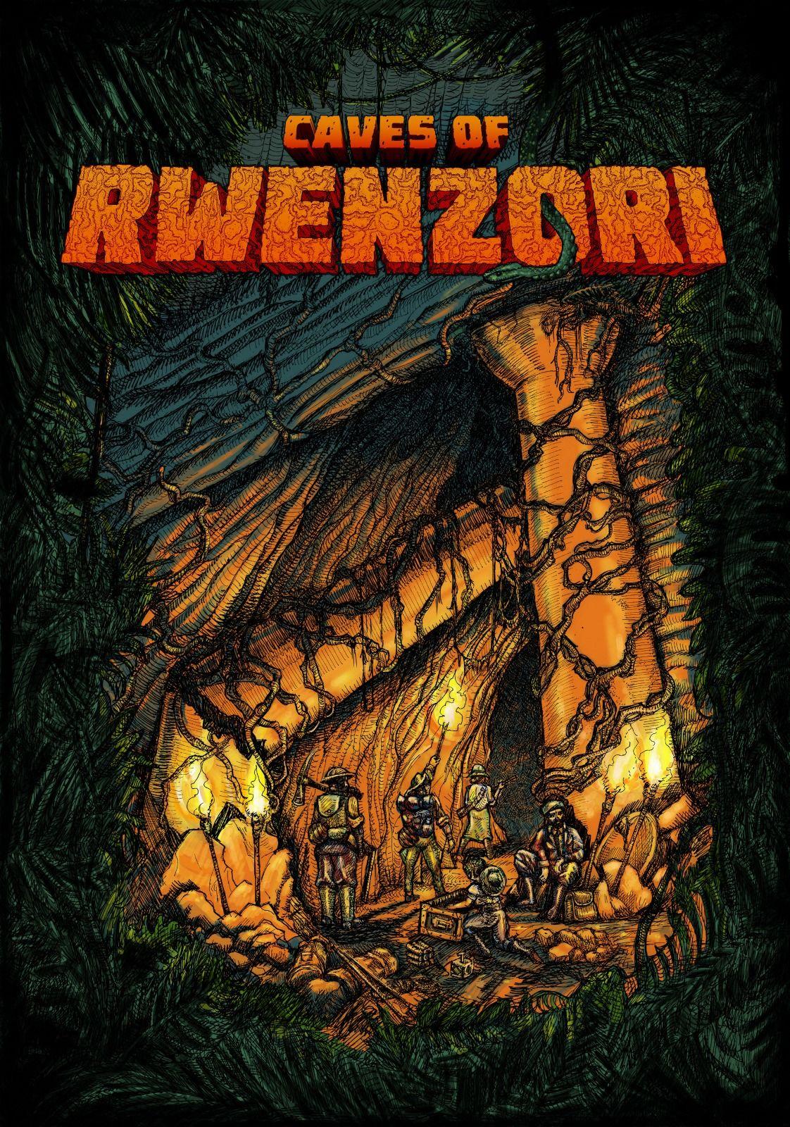 Caves of Rwenzori