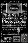 RPG Item: LARP LAB - Grim's Gallery: World War I Era Framed Military Portrait Photographs Volume 1