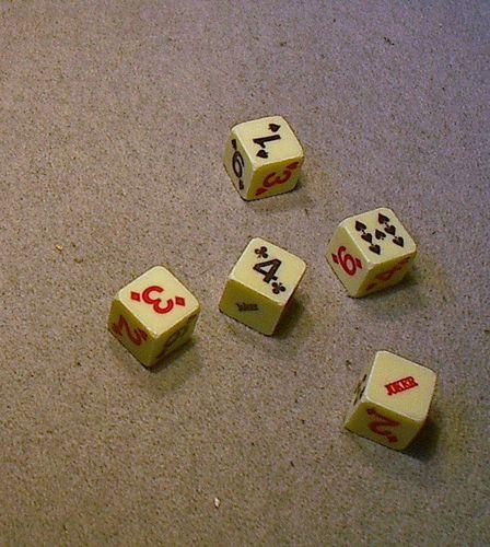 Board Game: 7-Spot Yott