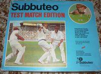 Board Game: Subbuteo Cricket