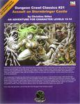 RPG Item: DCC #021: Assault on Stormbringer Castle
