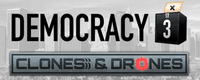 Video Game: Democracy 3: Clones and Drones