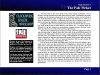 RPG Item: Magic Merchants 04: The Pale Picket