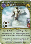 Board Game: Mage Wars: Altar of Peace Promo Card