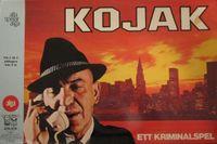 Board Game: Kojak Detective Game