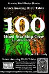 RPG Item: 100 Hired Star Ship Crew for all Sci-Fi RPGs