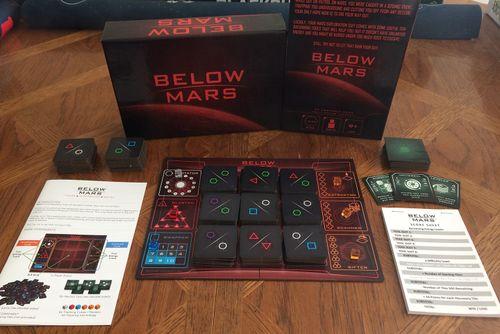 Board Game: Below Mars