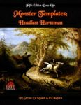 RPG Item: Monster Templates: Headless Horseman (5E)