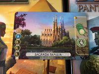Board Game Accessory: 7 Wonders Duel: Sagrada Familia