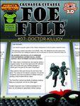 RPG Item: Foe File #07: Doctor Killjoy