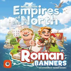 Imperial Settlers: Empires of the North – Roman Banners Cover Artwork