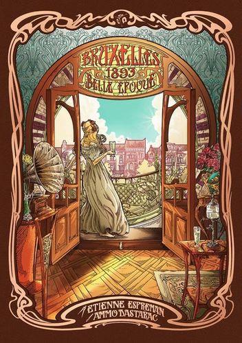 Board Game: Bruxelles 1893: Belle Epoque