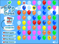 Video Game: Bloons Pop 3