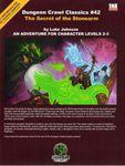 RPG Item: DCC #042: The Secret of the Stonearm