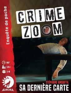 Crime Zoom: Sa dernière carte Cover Artwork