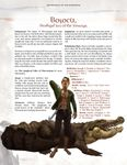 RPG Item: Adversaries of the Righteous: Boscu, Prodigal Son of the Swamps