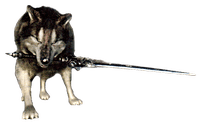 Character: Great Grey Wolf Sif