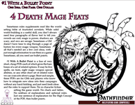 RPG Item: Bullet Points: 4 Death Mage Feats