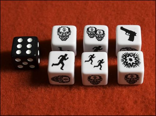 Board Game: Zombies!!! Roll Them Bones!