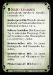 RPG Item: Spielkartenset Ausstattung für den Hexenjäger
