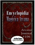 Issue: Arcana Journal (Issue 106 - Mar 2018)