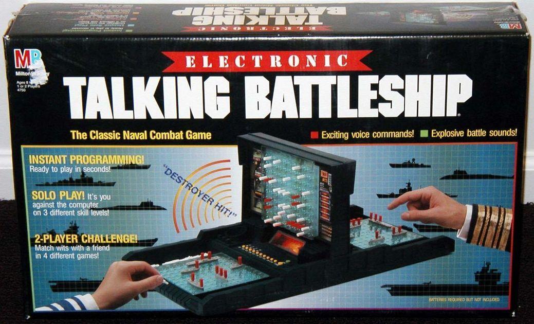 Electronic Talking Battleship Board Game Boardgamegeek