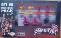 Board Game: Zombicide Set #5: Moustache Pack #2