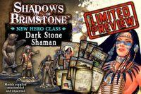 Board Game: Shadows of Brimstone: Dark Stone Shaman Hero Pack