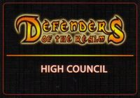 Board Game: Defenders of the Realm: High Council Cards