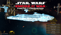Video Game: Star Wars: Empire at War – Forces of Corruption