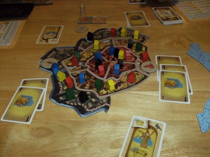 Vineta - Game 1, Round 2