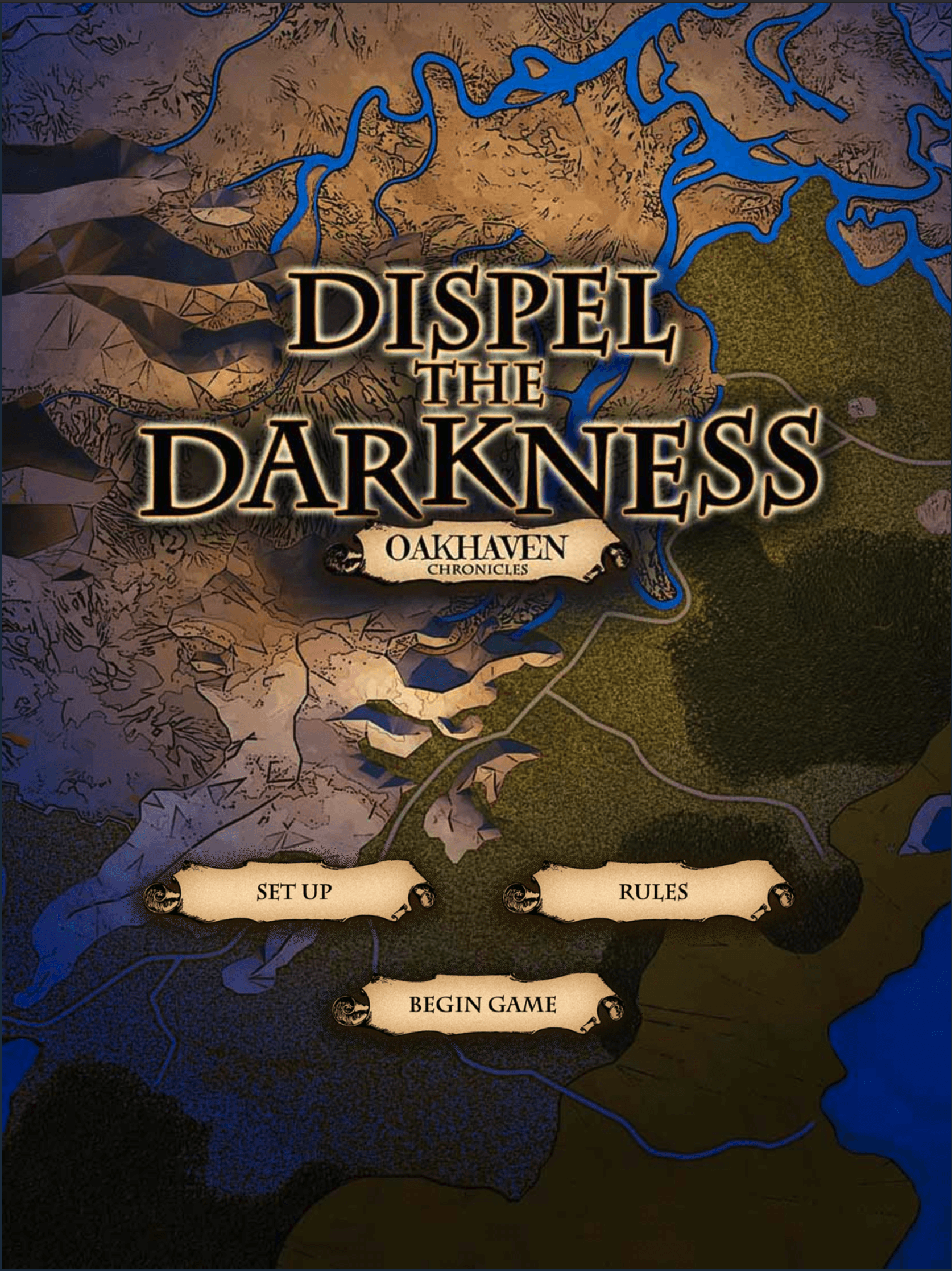 Dispel The Darkness: Oakhaven Chronicles